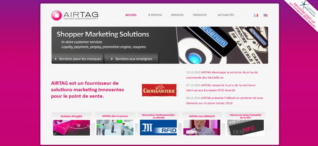 AIRTAG, Fournisseur de solutions Marketing pour le Point de Vente